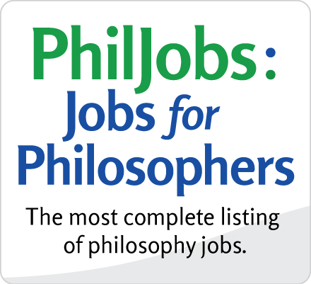 PhilJobs: Jobs for Philosophers—the most complete listing of philosophy jobs