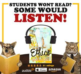 Students won't read, but some would listen